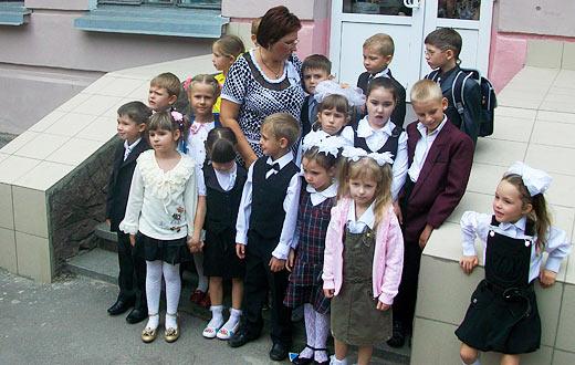 фотография моего класса - 1А класс