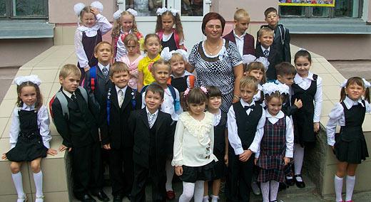 1 сентября 2009 года - я пошла в школу!