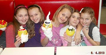 день рождения с подружками - мне 10 лет