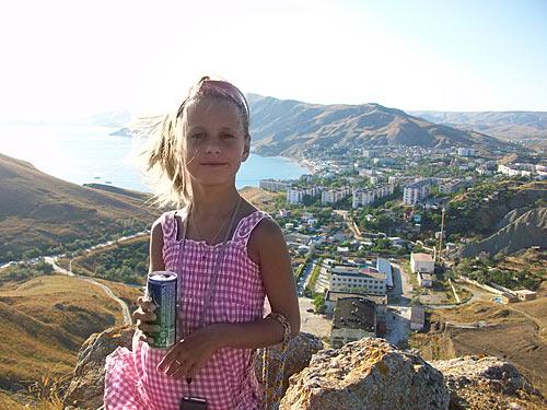 я в Крыму на горе