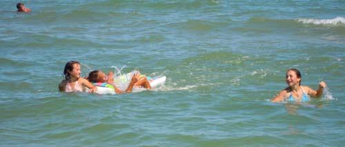 купались с девчонками